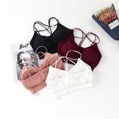運動內衣女性感美背內衣防走光裹胸吊帶背心女文胸 LI1372『時尚玩家』
