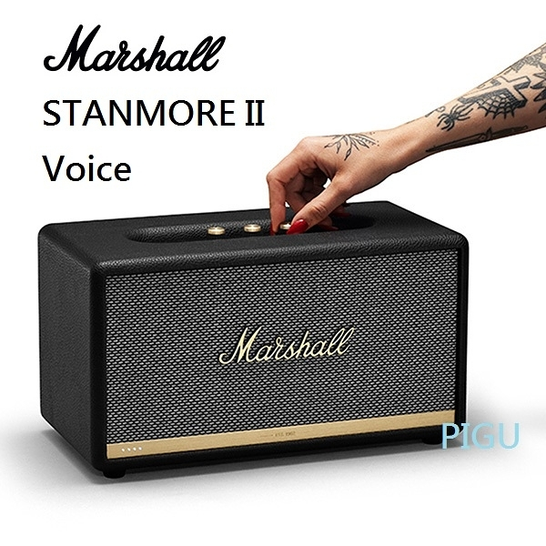 平廣 Marshall STANMORE II Voice 藍芽喇叭 Google Assistant 智慧語音串流喇叭