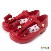 PIMPOLHO 金屬立體蝴蝶結小童鞋-紅色