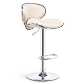 吧台椅 升降椅子前台吧凳現代簡約吧椅酒吧高腳凳高靠背凳子【幸福小屋】