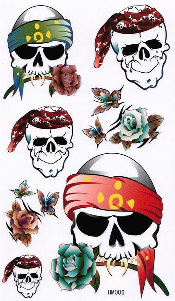 薇嘉雅        超炫圖案紋身貼紙 HM006