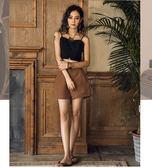 露肚臍短版黑色泰國吊帶背心上衣/設計家分店