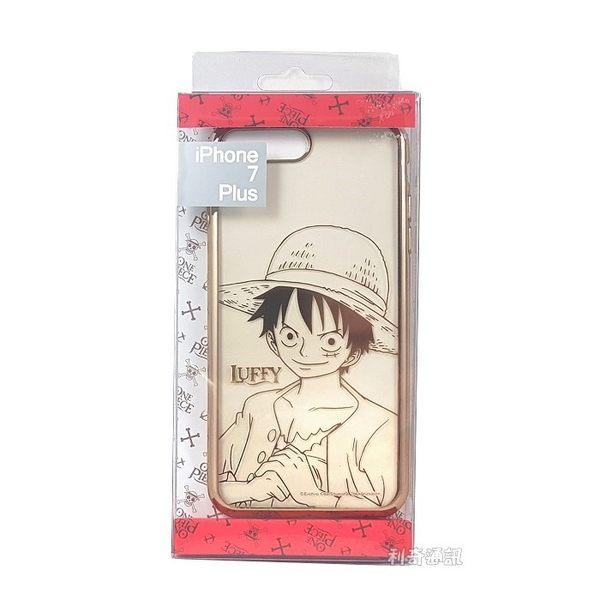 海賊王電鍍軟殼[01]魯夫 iPhone 7 Plus / 8 Plus (5.5吋) 航海王【正版授權】