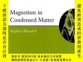 二手書博民逛書店Magnetism罕見In Condensed Matter (