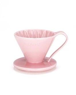 金時代書香咖啡 CAFEC Flower Dripper 花瓣濾杯 1-2人 粉色 CFD-01-PI
