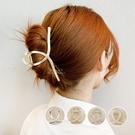 歐風金屬珍珠水鑽爪夾 爪夾 髮飾 髮飾