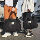 帆布包側背包女大包2019新款簡約帆布包挎包尼龍布包手提女包大容量包包可卡衣櫃