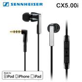 Sennheiser 聲海 CX 5.00i iOS系統專用 入耳式耳機 - 黑色