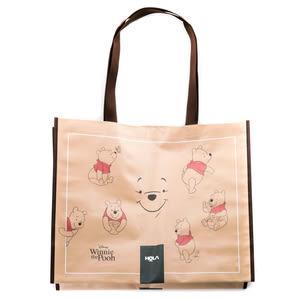 HOLA 迪士尼系列 維尼防潑水購物袋 Winnie the Pooh Disney