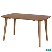 ◎實木餐桌 NUTS 130 橡膠木 NITORI宜得利家居