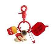 汽車鑰匙扣女韓國可愛創意男士簡約鑰匙圈情侶一對鑰匙錬書包掛件   新品全館85折