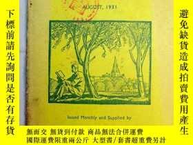 二手書博民逛書店Books罕見of the Month 每月書刊述評 1931年