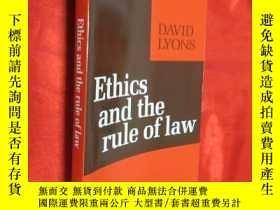 二手書博民逛書店Ethics罕見and the Rule of Law (大32