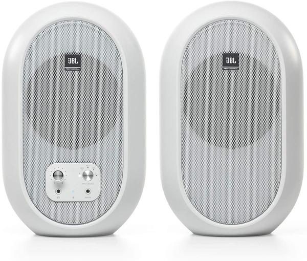 【音響世界】JBL 104 BTW同軸4.5吋60瓦/藍芽5.0白色款監聽喇叭-進口升級線--公司貨