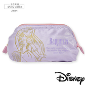 化妝包-日本Disney迪士尼-防水超輕挺版緞面收納包-長髮公主-玄衣美舖