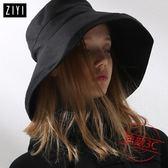 帽子女夏天新款超大帽沿遮陽帽防紫外線太陽帽防曬戶外漁夫帽 最後1天下殺89折