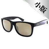 原廠公司貨-【Ray-Ban 雷朋】4165F-622/5A-55 亞洲加高鼻墊款(#霧黑-水銀鏡面)