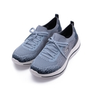 SKECHERS 健走系列 GO WALK STRETCH FIT 免綁帶運動鞋 藍 124384NVBL 女鞋