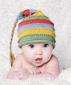 有機純綿針織帽: 彩虹: BD-18-7