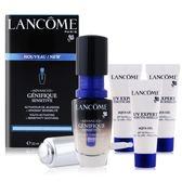 LANCOME 蘭蔻 超進化肌因活性安瓶(20ml)+超輕盈UV水凝露(10ml)X3