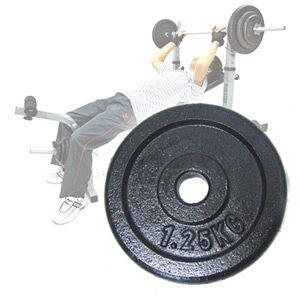 單片1.25KG傳統鑄鐵啞鈴槓片1.25公斤槓片.槓鈴片.舉重量訓練.運動健身器材.推薦哪裡買專賣店