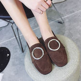 低跟平底懶人鞋單鞋韓版學生百搭    琉璃美衣