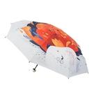 太陽傘防曬防紫外線小巧便攜五摺疊口袋遮陽...