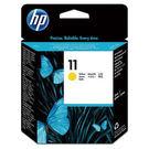 HP C4813A NO.11原廠黃色列印頭 適用BIJ2200/2250/DesignJet 70/111/500/510/800(原廠品)
