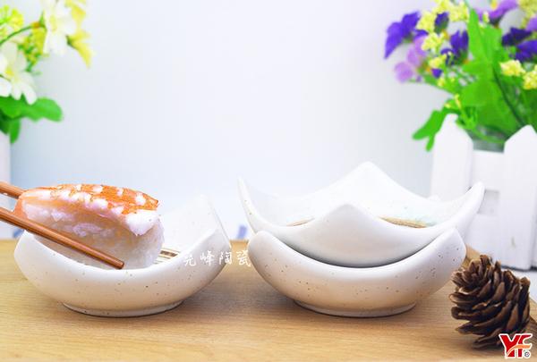 【堯峰陶瓷】日式餐具 綠如意系列 3吋方型醬料碟 (兩入一組) 醬料碟 水果碟 泡菜碟 套組餐具系列