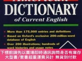 二手書博民逛書店The罕見Oxford American Dictionary Of Current EnglishY2562