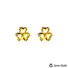 Jove gold 漾金飾 幸福象徵黃金耳環