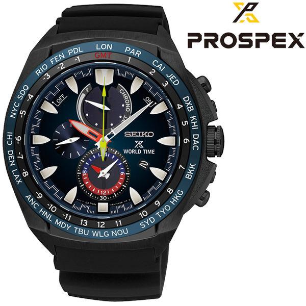 [萬年鐘錶]  SEIKO  PROSPEX 太陽能 海洋冒險家白石康次郎限定款 計時腕錶 SSC551P1(V195-0AB0SD)
