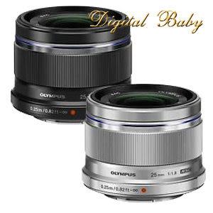 【送UV保護鏡】 Olympus M.ZUIKO DIGITAL 25mm F1.8 定焦 鏡頭 (元佑公司貨) EZ-M2518 25_18