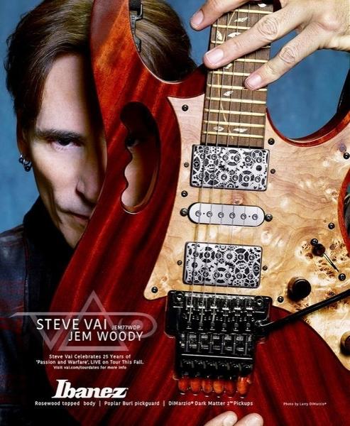 ☆唐尼樂器︵☆歡迎零卡分期 Ibanez Jem77WDP Steve Vai 簽名 代言 大搖座 電吉他 含原厰硬盒