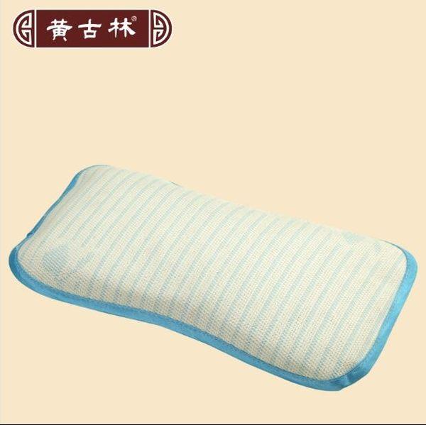卡通嬰兒涼枕頭套夏季寶寶亞麻草兒童涼枕夏天午睡枕枕頭芯