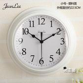 (一件免運)掛鐘現代簡約鐘錶掛鐘客廳臥室家用圓形電池數字時鐘掛錶壁鐘XW