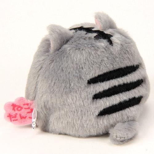 日本限定 2016 新品 沙包貓吊飾 包包吊飾/手機吊飾 灰貓款 該該貝比日本精品 ☆
