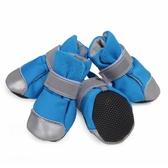 狗鞋子小型犬泰迪不掉一套4只比熊春夏透氣舒適軟底防水狗穿的鞋 快意購物網