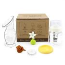 紐西蘭 Haakaa 新手媽媽高級禮盒(150ml集乳器+小花瓶塞+防塵蓋+安撫奶嘴+奶瓶+奶瓶儲存蓋)