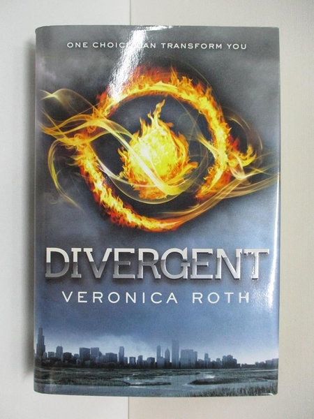 【書寶二手書T1/原文小說_BO7】Divergent_Roth, Veronica