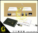 ES數位 LightForce 彎彎 讀卡機 2.0 多合一 讀卡機 搭載 2個 USB 插孔可當HUB使用 多合一讀卡機