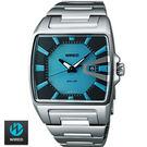 《下標贈G-SHOCK》WIRED 太陽能時尚土耳其藍鋼帶錶 公司貨 AUA017X V145-X014A | 名人鐘錶