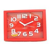 糖果色立體數字方型鬧鐘SV-1313-R