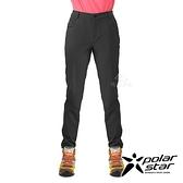 PolarStar 女 四彈抗UV極窄管褲『黑色』P21356 戶外 休閒 登山 露營 運動褲 釣魚褲