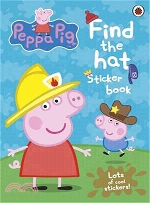 PEPPA PIG: FIND-THE-HAT STICKER BOOK (貼紙書)(AFPF0787)