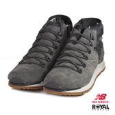 New Balance 新竹皇家 Mlnbgy 灰色 皮質 側拉鏈 休閒鞋 男款 NO.B0207