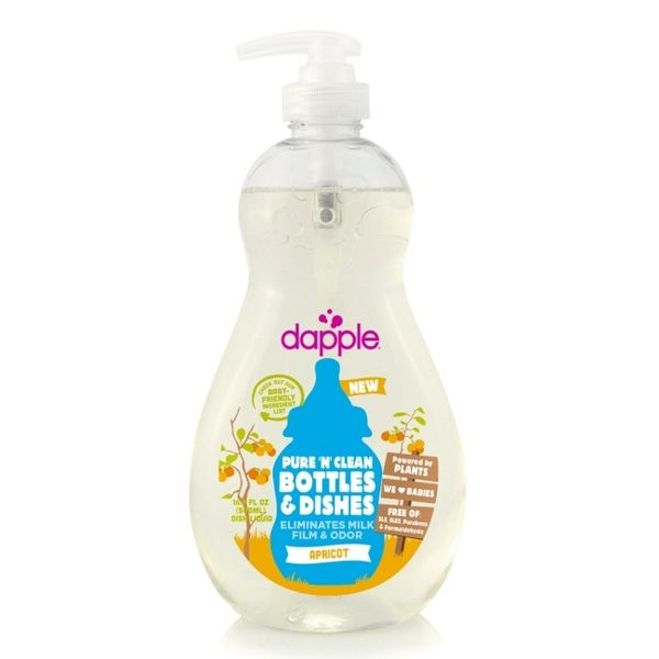 dapple 奶瓶及餐具清潔液-杏仁500ml