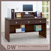 【多瓦娜】19058-627001 安寶耐磨胡桃5尺電腦辦公桌(A50)