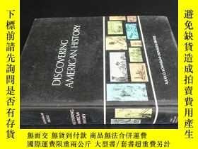 二手書博民逛書店DISCOVERING罕見AMERICAN HISTORY(發現