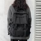 書包女韓版高中原宿ulzzang大學生雙肩包男ins百搭大容量工裝背包 伊衫風尚